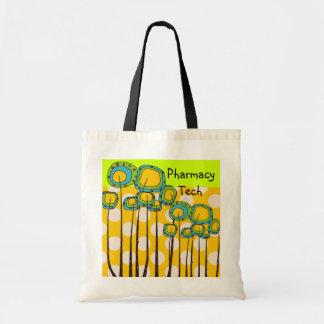 薬学の技術のトートのお洒落な花 トートバッグ