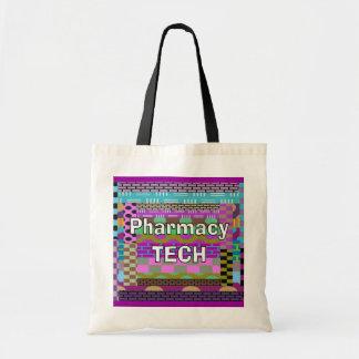 薬学の技術のトートの抽象美術 トートバッグ