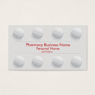 薬学の薬剤師ビジネスドラッグストア 名刺