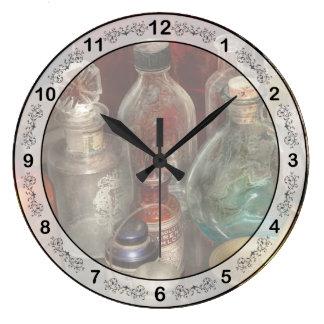薬学-あなたの毒を選んで下さい ラージ壁時計