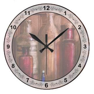 薬学-制酸剤からの…防腐剤への ラージ壁時計