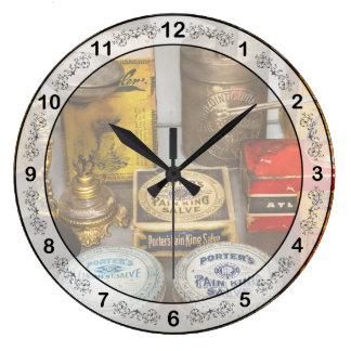 薬学-苦痛王 ラージ壁時計
