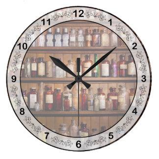 薬学- Pharma-palooza ラージ壁時計