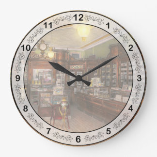 薬学- Wellerの薬学1915年 ラージ壁時計