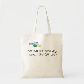 薬物は毎日袋に入れます(CPN) トートバッグ