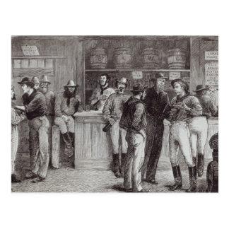 薮の居酒屋の中の概要shout',、1878年 ポストカード