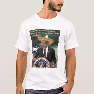 薮違法移住 Tシャツ