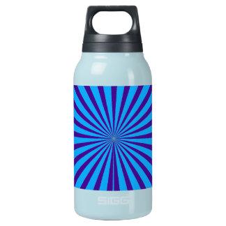 藍色の紫色のスターバスト日曜日はトンネルの眺めを放射します 断熱ウォーターボトル