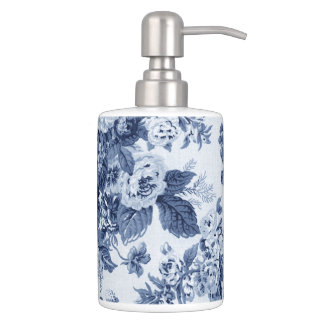 藍色花のToile No.3 バスセット