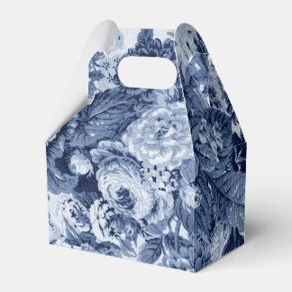 藍色花のToile No.3 フェイバーボックス