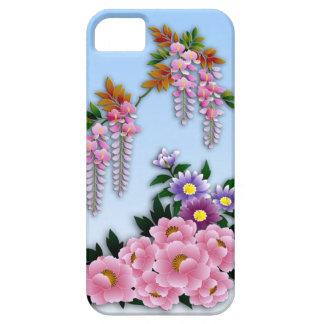 藤およびシャクヤクの春の花 iPhone SE/5/5s ケース