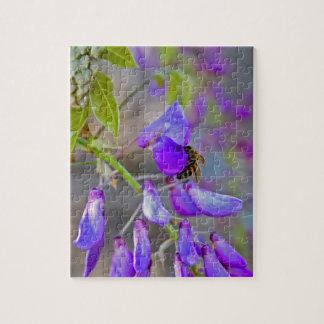 藤のパズルの蜂 ジグソーパズル
