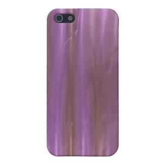 藤色のピンクの液体の絹の効果のiPhoneの箱 iPhone SE/5/5sケース