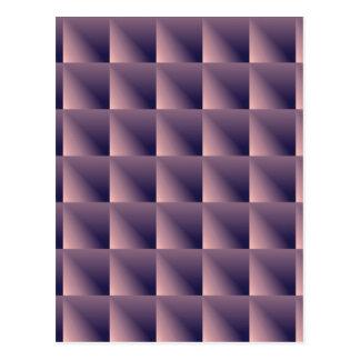 藤色のペーパースロット ポストカード