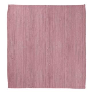 藤色の紫色のタケ木製の穀物の一見 バンダナ