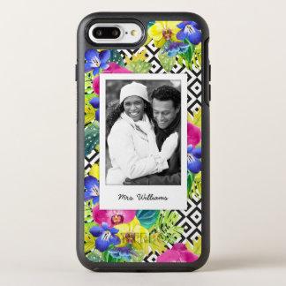 蘭のベゴニア及びやし|はあなたの写真を加えましたり及び示します オッターボックスシンメトリーiPhone 8 PLUS/7 PLUSケース