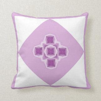 蘭の万華鏡のように千変万化するパターンの枕 クッション