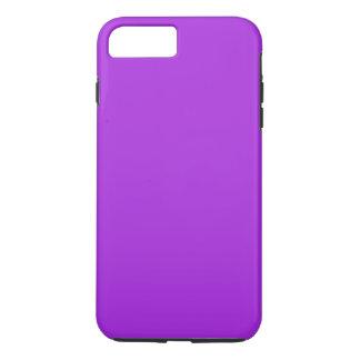 蘭の情熱の紫色(無地)の~ iPhone 8 PLUS/7 PLUSケース