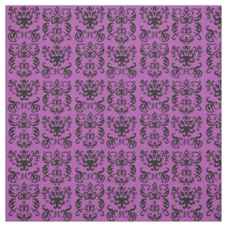 蘭の手描きのフランスのなダマスク織 ファブリック