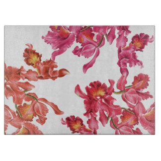 蘭の花のまな板 カッティングボード