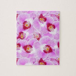 蘭の花の写真の抽象的な背景 ジグソーパズル