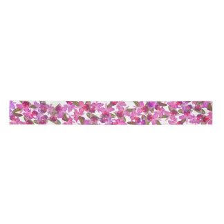 蘭の花柄の花の熱帯サテンリボン サテンリボン