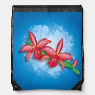 蘭の花 ナップサック