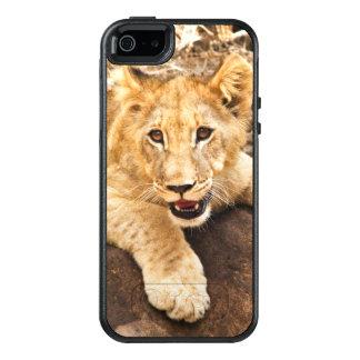 虎の子石の一休みを取ります オッターボックスiPhone SE/5/5s ケース