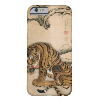 虎図、若冲のトラ、Jakuchūの日本芸術 iPhone 6 ベアリーゼアケース