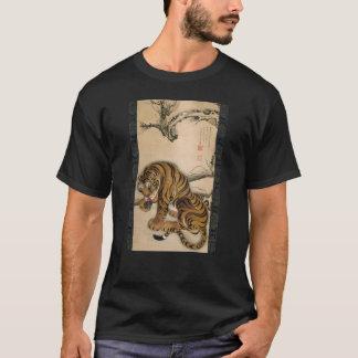 虎図、若冲のトラ、Jakuchu Tシャツ
