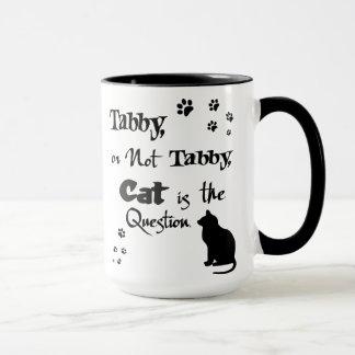 虎猫かない虎猫のシェークスピアの猫好きのマグ マグカップ