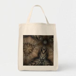 虎猫の毛皮 トートバッグ
