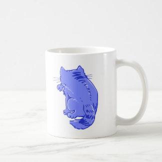 虎猫猫の菓子の漫画を舐めること コーヒーマグカップ