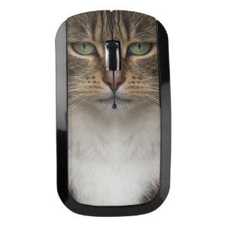 虎猫猫の顔の無線電信のマウス ワイヤレスマウス