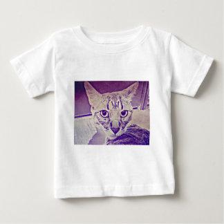 虎猫猫 ベビーTシャツ