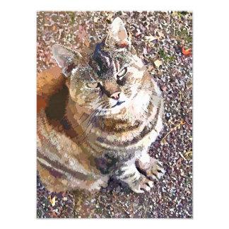 虎猫CAT フォトプリント