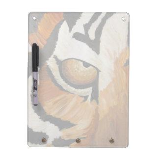 虎眼石(キンバリーTurnbullの芸術によってアクリル) ホワイトボード