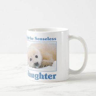 虐殺シールをストップ コーヒーマグカップ