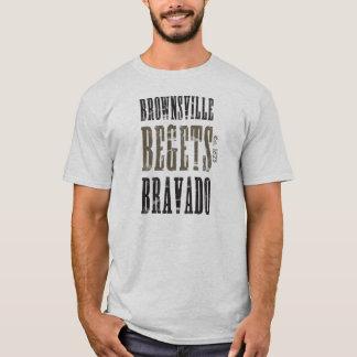 虚勢を生みます Tシャツ