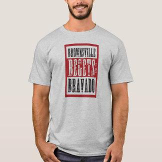 虚勢8を生みます Tシャツ