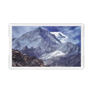 虚栄心の香水の皿のネパールヒマラヤ山脈山のギフト アクリルトレー