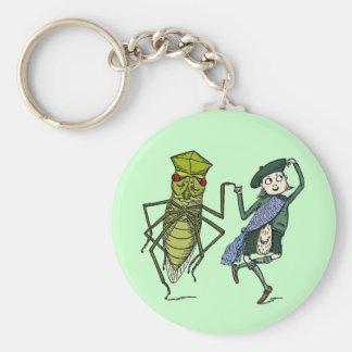 虫およびブラウニーはダンスをします キーホルダー