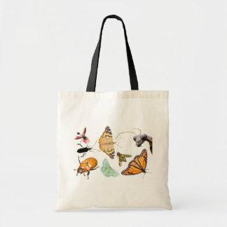 虫のコラージュの~のバッグ トートバッグ