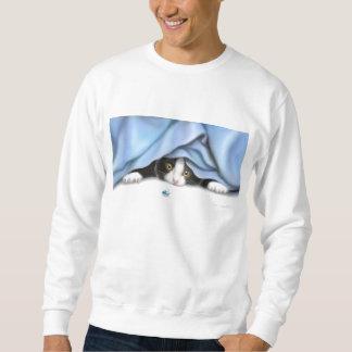 虫のハンター猫のスエットシャツ スウェットシャツ