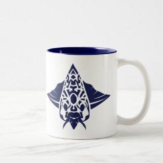 虫の女王のマグ ツートーンマグカップ