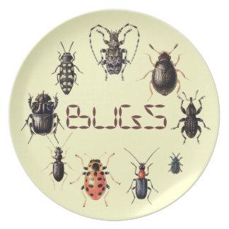 虫は昆虫ファンのためにめっきします プレート