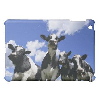 虫は4頭の若い子牛の眺めを注目します iPad MINIカバー