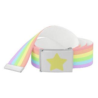 虹および星ベルト ベルト