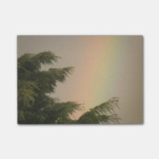 虹および木のポスト・イット ポストイット