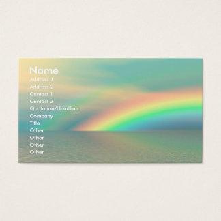 虹および水 名刺
